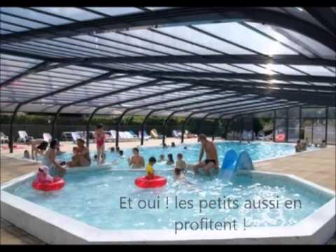 Piscine couverte chauff e au camping de l 39 etang du pays blanc a gu rande youtube - Camping guerande piscine couverte ...