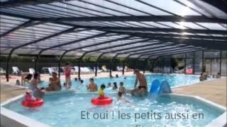 Piscine Couverte Chauffée au Camping de l'Etang du Pays Blanc a Guérande