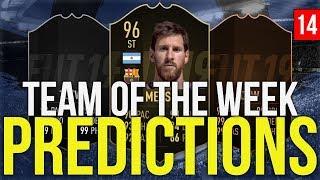 FIFA 19 - TOTW PREDICTIONS 14 | MESSI | GRIEZMANN | SHAQIRI