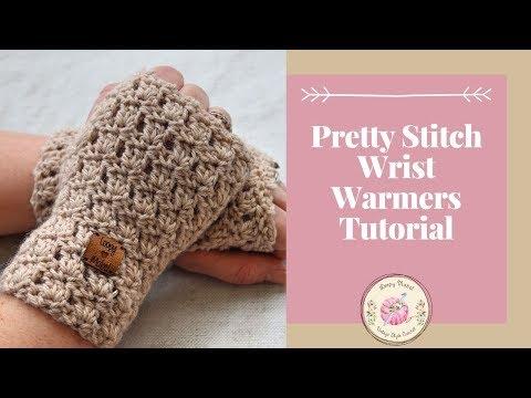 Beginner Crochet Fingerless Gloves Free Crochet Pattern Tutorial