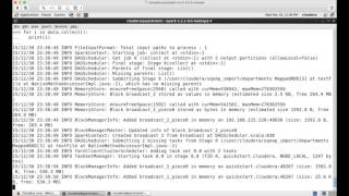 hadoop certification cca pyspark reading and saving text files