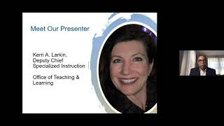 What Can I Expect From DCPS' Specialized Instruction During Learning At Home