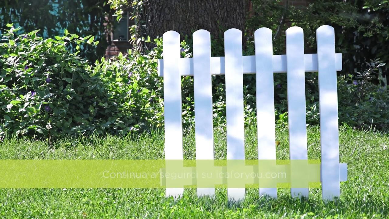 Staccionata Bianca In Legno come verniciare una staccionata di legno con effetto smaltato - ica for you
