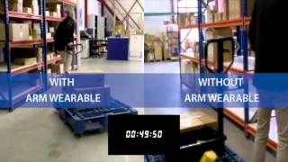 Unitech Wearable handsfree barcode scanning
