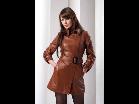 Современные кожаные плащи для женщин, как выбрать стильный плащ по фигуре