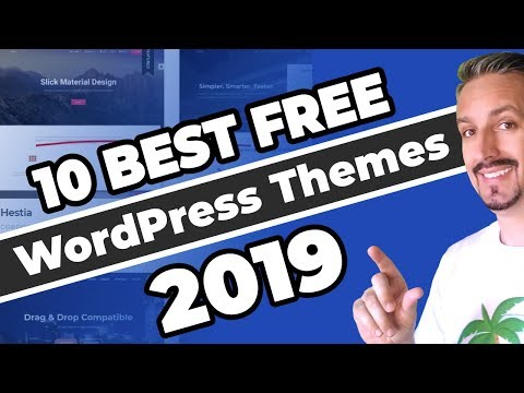 10+ Best Free WordPress Themes (2019 and Beyond) 🚀