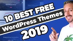10+ Best Free WordPress Themes (2019 and Beyond) 🚀