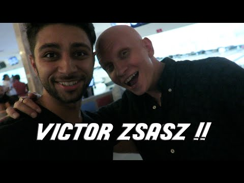 MEETING VICTOR ZSASZ !! AKA ANTHONY CARRIGAN !!