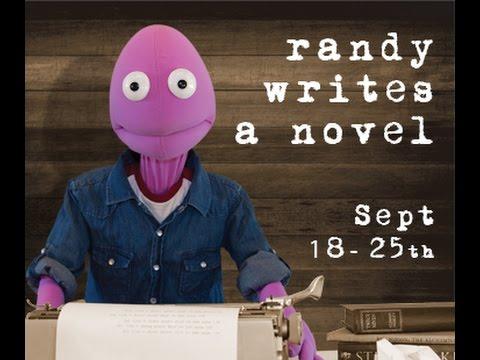 Randy Writes a Novel AUSLAN Promo