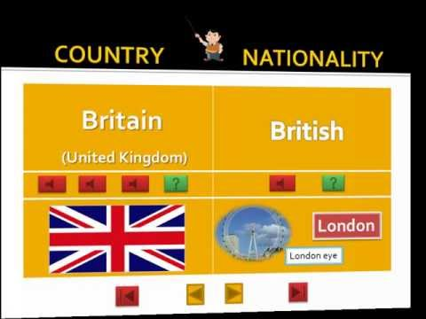 Countries and Nationalities (Basic Level)