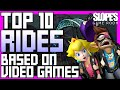 Top 10 Rides based on Video Games - SGR