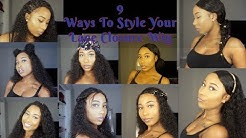 9 Ways To Style Your Lace Closure Wig