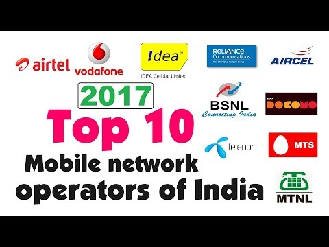 Top 10 Telecom Companies In India 2017 | Top 10 Best Mobile SIM Networks In India