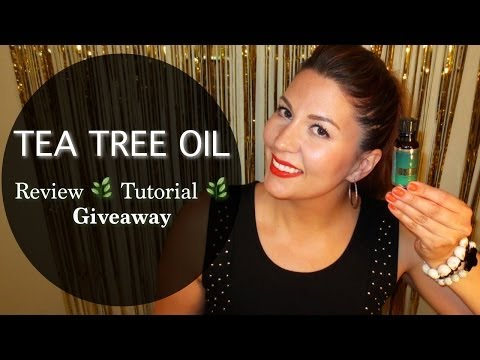 Tea Tree Oil - Review & Giveaway