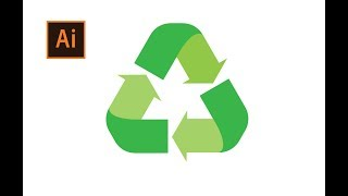 How to Draw a Recycle Logo in Adobe Illustrator