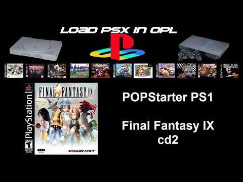 Final Fantasy 9  cd2 POPStarter ps2