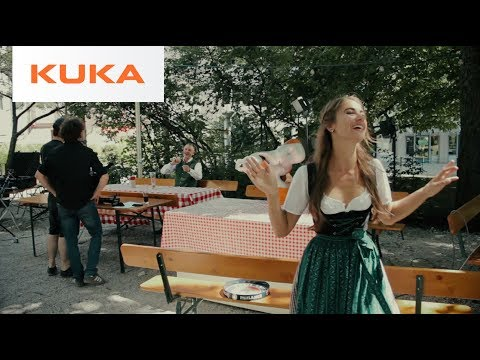 Paulaner and KUKA Robot Beer Contest - Behind-the-Scenes
