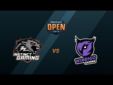 VOD: Instinct vs Windigo - DreamHack Open Tours 2019 - M.1