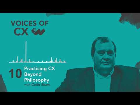 S2 E10: Colin Shaw - Practicing CX Beyond Philosophy - YouTube
