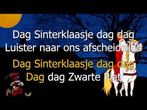 Karaoke - Dag Sinterklaasje