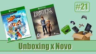 Unboxing de Novo (Brothers/Super Lucky`s Tale) - Parte 21