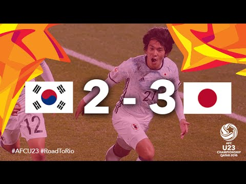 KOREA REPUBLIC vs JAPAN: AFC U23 Championship 2016 (Final)