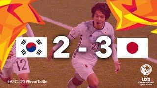 Video Gol Pertandingan Korea Selatan U-23 vs Jepang U-20