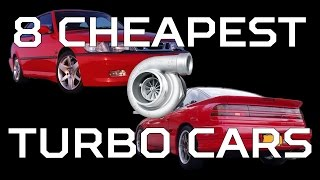 8 Cheapest Turbo Cars