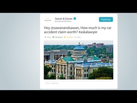Webisode 1: How Much is my Car Accident Claim Worth?| Sawan & Sawan | 1-866-INJURY-0