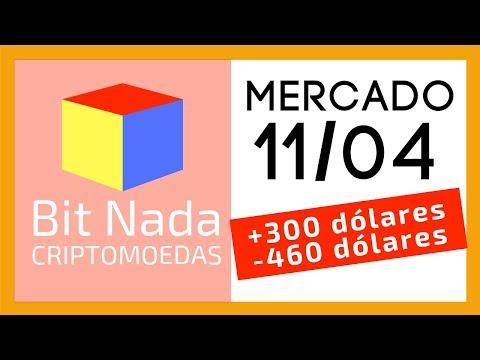 Mercado De Cripto! 11/04 Bitcoin +300, Bitcoin -460