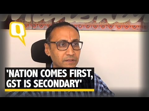 'Nation Comes First, GST is Secondary': 48-Year-Old Textile Trader | #VoicesofGujarat | The Quint