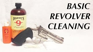 Basic Revolver Cleaning