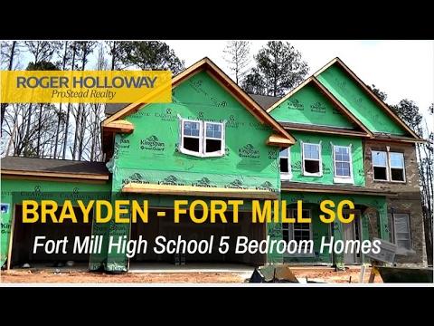 Fort Mill SC Homes for Sale in CalAtlantic's Brayden Neighborhood