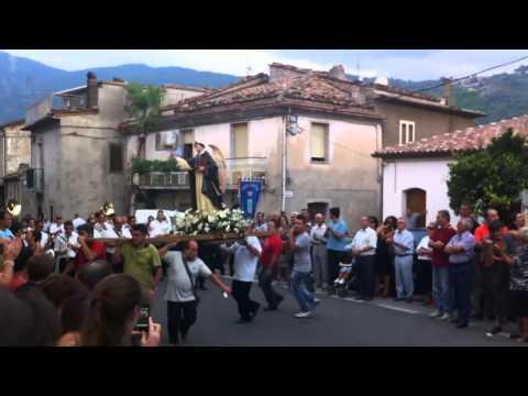 Santo che balla, Festa in onore di San Vincenzo Ferreri (11/08/2012), Cersosimo (PZ), Pollino!