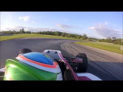 Zach Holden: USF2000 test @Autobahn