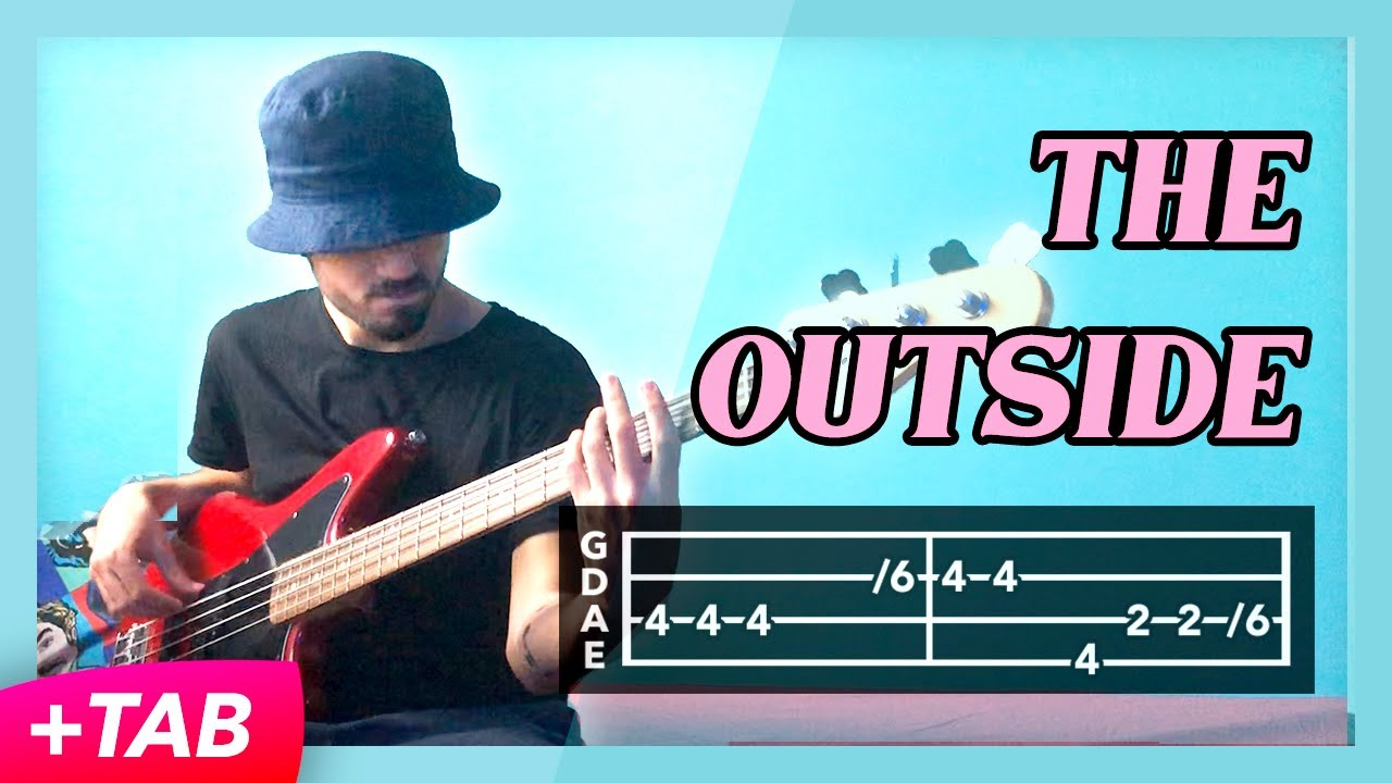 Twenty One Pilots - The Outside [Bass Cover +TAB]