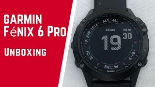UNBOXING.- Garmin Fénix 6 Pro