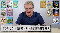 #TOP20 - kleine Kartenspiele   Georgs Neuauflage