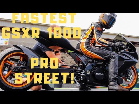 NEW PRO STREET GSXR 1000 is BUILT to TAKE OUT DOMINANT HAYABUSA RACERS!