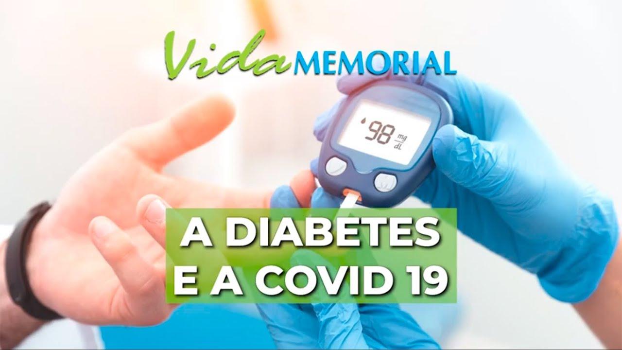 A diabetes e a COVID 19