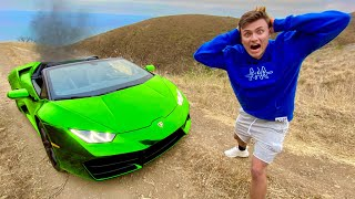 Dont do this with your Lambo...