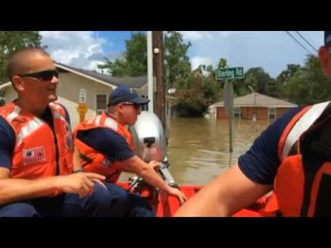 Përmbytjet në Luiziana, katastrofë natyrore në SHBA - Top Channel Albania - News - Lajme