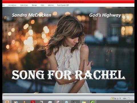 Sandra McCracken - Song For Rachel (Lyrics)