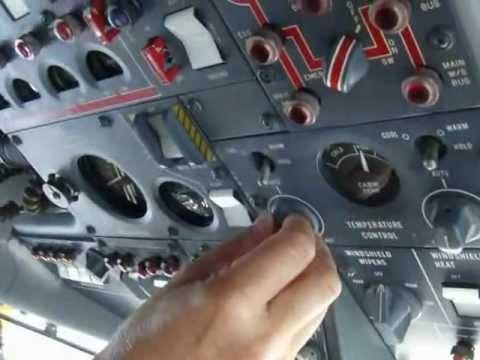Lockheed Jetstar Cabin and Cockpit Inflight