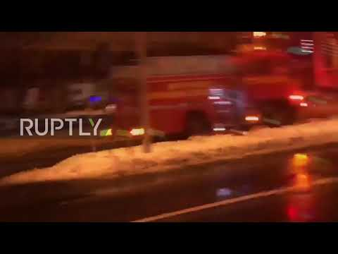 Japan: 42 injured after explosion and fire destroy restaurant in Sapporo