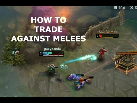 HOW TO TRADE AGAINST MELEES! Vainglory 5v5