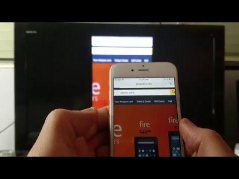 Amazon Fire TV Stick: How to AirPlay (Screen Mirror) - iPhone 5, 6, 6s, Plus