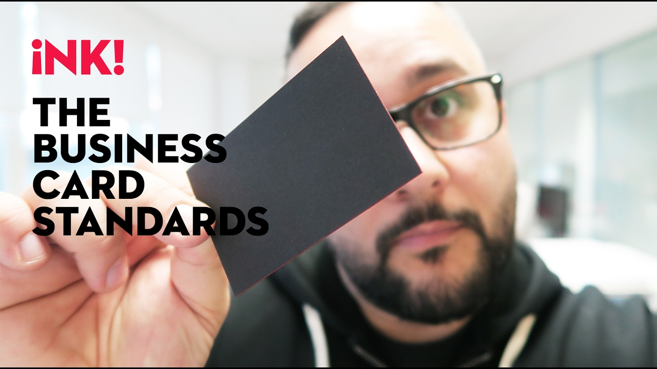 What is a standard business card size youtube what is a standard business card size magicingreecefo Choice Image
