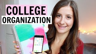 10 ORGANIZATION TIPS FOR COLLEGE STUDENTS