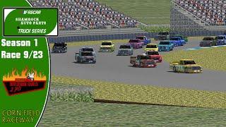 FASCAR Shamrock Auto Parts Truck Series Season 1 Race 9/23 | Beelzebub Grills 170